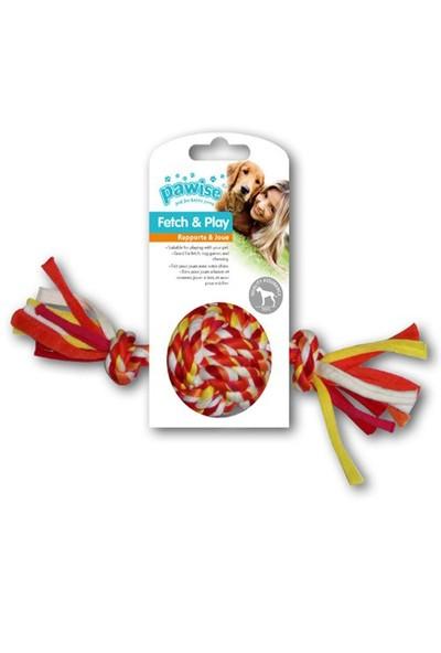 Pawise Renkli 2 Düğümlü İp Top Köpek Oyuncağı 20 Cm