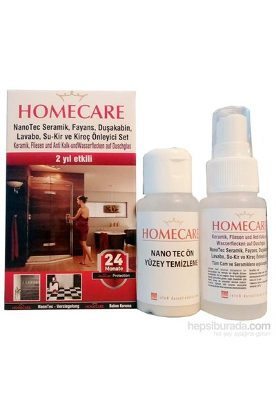 HomeCare Duşakabin Su Kaydırıcı 2 Yıl Etkili 2x50ml 424072