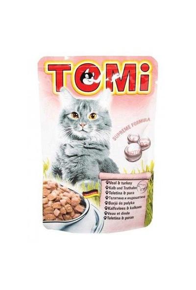 Tomi Dana Ve Hindi Etli Yetişkin Kedi Konservesi 100 Gr