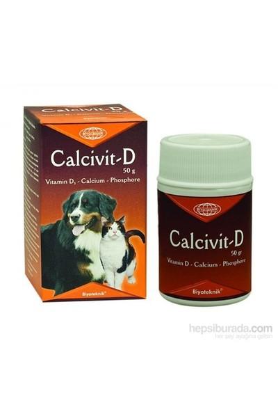 Biyo Teknik Calcivit-D Köpek Vitamini 50 Gram