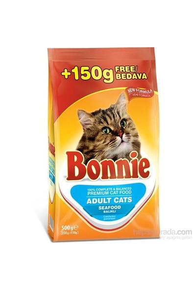 Bonnie Cat Seafood Deniz Ürünlü Yetişkin Kedi Maması 0,5 Kg