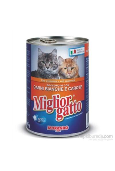 Kedi Konserve Kümes Hayvanı&Havuç 405 Gr