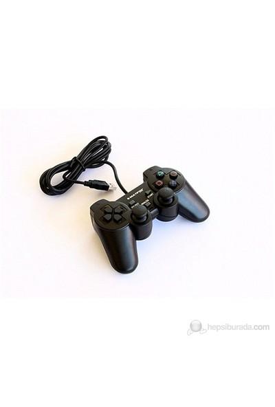 Multifon MF-GMP8001 USB Çift Titreşimli Kablolu USB PC Gamepad