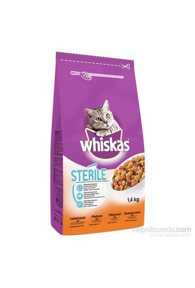 Whiskas Steril Tavuklu Kuru Kedi Maması 1,4 Kg