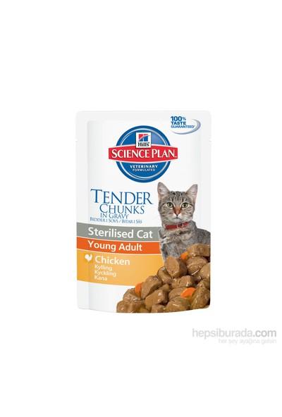 Hill's Science Plan Yetişkin Kısırlaştırılmış Kedi Tavuklu Yaş Mama Pouch 85 Gr