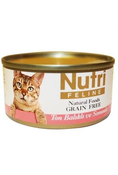 Nutri Feline Tahılsız Ton Balıklı Somonlu Kedi Konservesi 80 Gr