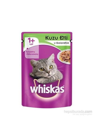 Whiskas pouch Kuzu Etli yaş kedi maması 100gr