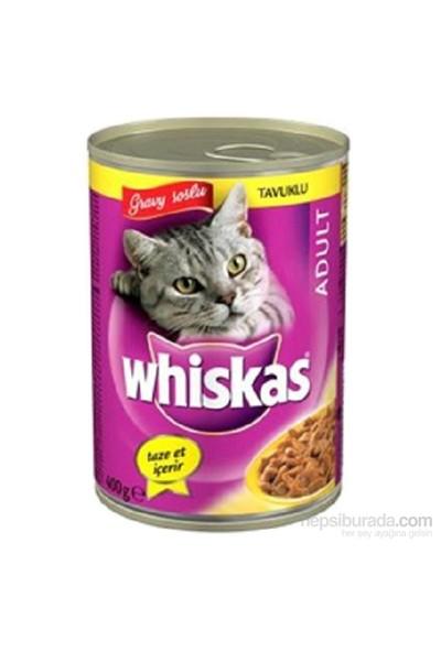 Whiskas Konserve Erişkin Tavuklu Kedi yaş 400 Gr