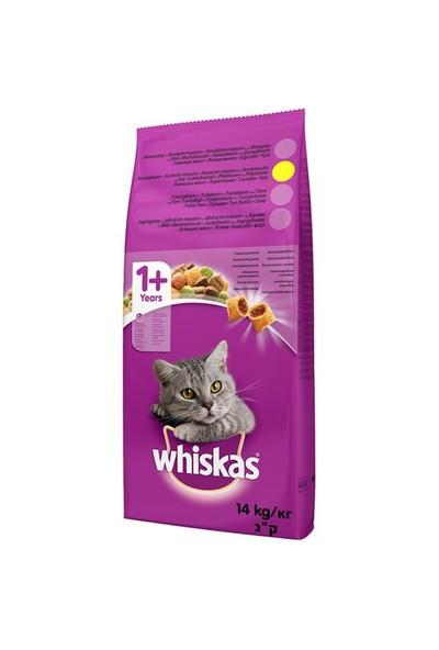 Whiskas Tavuklu ve Sebzeli Kuru Kedi Maması 14 Kg