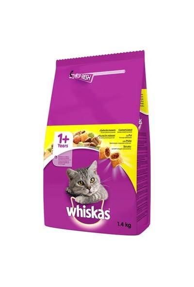 Whiskas Tavuklu ve Sebzeli Kuru Kedi Maması 1,4 Kg