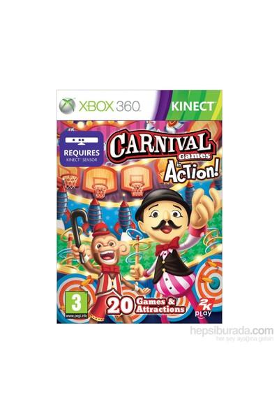 2K Games Xbox 360 Kınect Carnıval Games Actıon