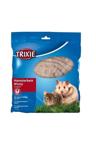 Trixie Hamster Yünlü Yatağı, 100Gr, Kahverengi