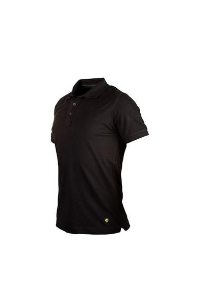 Cosywolf Siyah Polo Yaka Tshirt