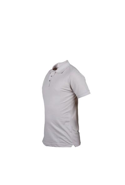 Cosywolf Kırık Beyaz Polo Yaka Tshirt