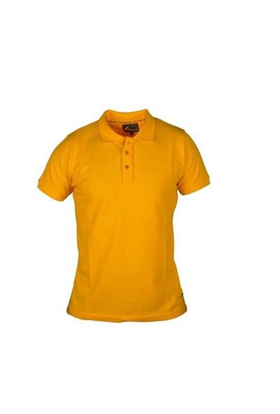 Cosywolf Sarı Polo Yaka Tshirt