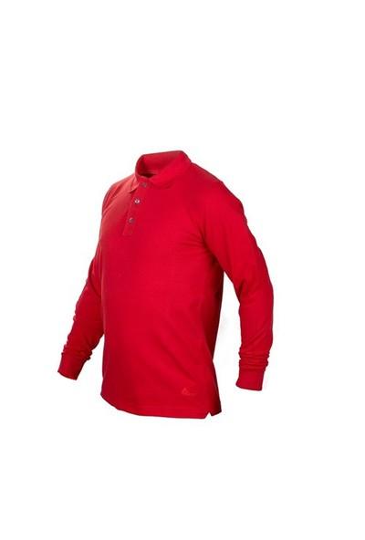 Cosywolf Kırmızı Polo Yaka Sweath