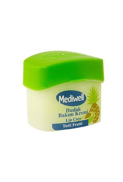 Mediwell Dudak Bakım Kremi - Tutti Frutti Aromalı