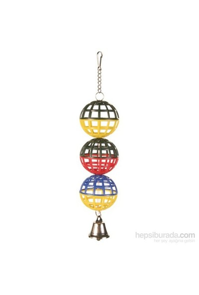 Trixie Muhabbet Kuşu Oyuncağı Zilli Toplar 4,5 cm