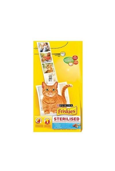 Friskies Somonlu Ve Sebzeli Kısırlaştırılmış Kedi Maması 10Kg