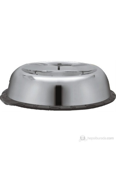 Dr.Sacchi Çelik Mama Kabı - Kaydırmaz Lastikli- Desensiz Oval - 77070B - 96 oz - 2,80 L gk*