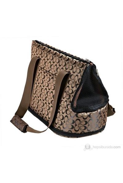 Trixie pet taşıma çantası,21×25x45cm,bronz/siyah