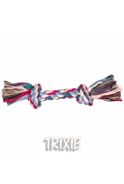 Trixie Köpek Pamuk İpten Örgü Diş İpi Medium