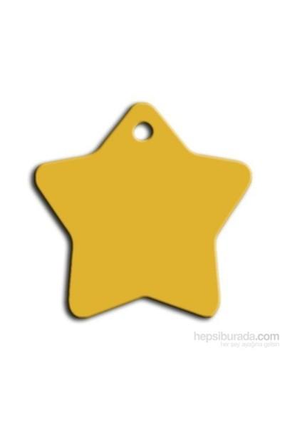 Dalis Pet Tag - Küçük Yıldız Kedi Ve Köpek Künyesi (İsimlik)