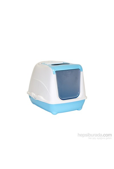 Moderna Flip Kapalı Tuvalet 58 Cm Mavi