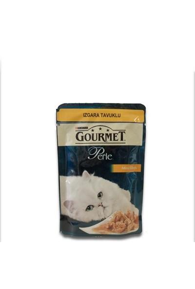 Gourmet Perle Izgara Tavuklu Kedi Konservesi 85Gr x 6 Adet