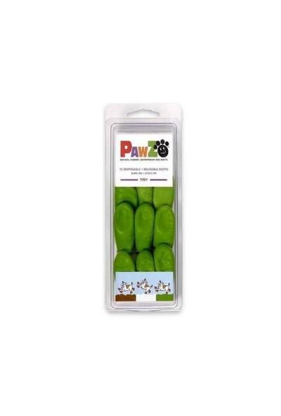 Pawz Köpek Galoşu Tıny ( Apple Green ) 12''Li