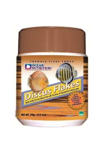Ocean Nutrition Discus Flake - 70 Gr. Discus Balıkları için Pul Yem