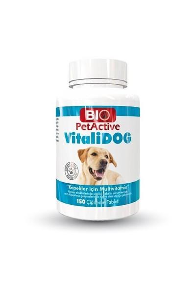 Biopetactive Çiğneme Tableti Vitalidog (Köpekler İçin Multivitamin Tablet) 75Gr.