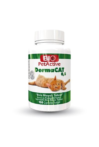 Pet Active Dermacat Brewers Yeast Sarmısaklı Tableti 150 Adet