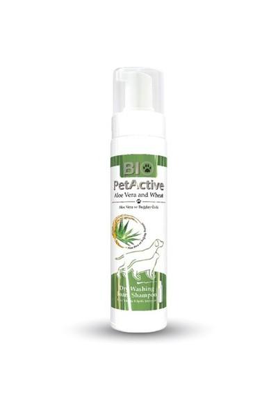 Biopetactive Kuru Ve Köpük Şampuan Aloe Vera Dry Washıng Foam Shampoo (Aloe Vera Özlü Kuru Yıkama Kö