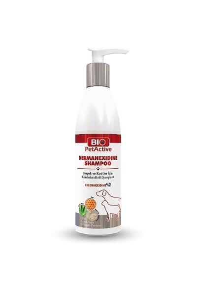 Biopetactive Dermahexidine Shampoo- (Kedi Ve Köpekler İçin Antiseptik Şampuan) 250 Ml