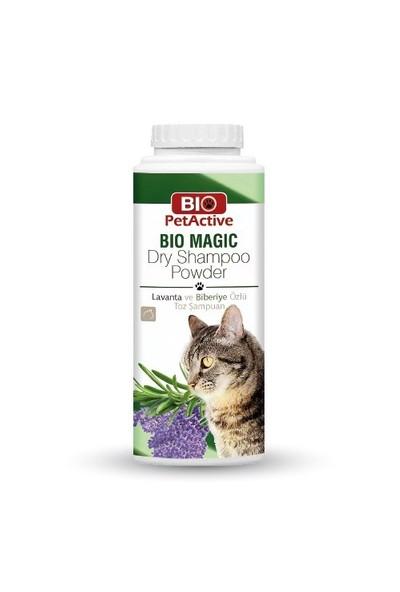 Biopetactive Toz Şampuan Bıomagıc Dry Shampoo Powder- (Kediler İçin Lavanta Ve Biberiye Özlü Toz Şam