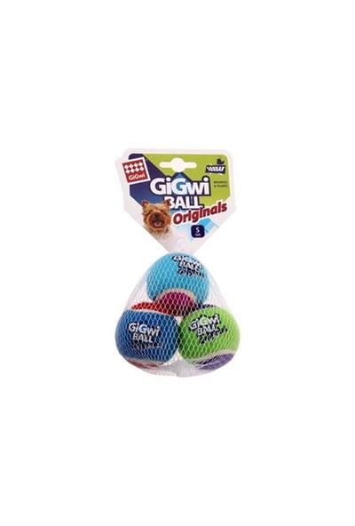 Gigwi Tenis Topu 3Lü 5 Cm Köpek Oyuncağı