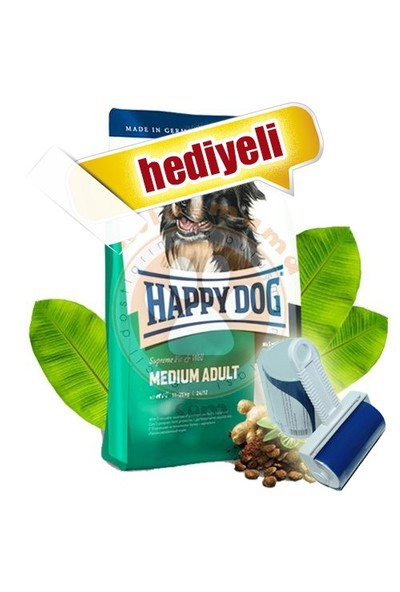 Happy Dog Fit&Well Medium Orta Irk Köpek Maması 4 Kg