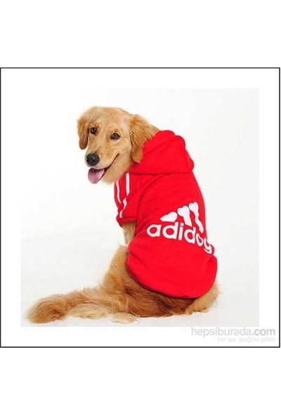 Kemique Adidog Sweatshirt Kırmızı Orta Ve Büyük Irk