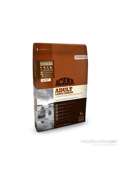 Acana Heritage Adult Large Breed Köpek Maması 17 Kg