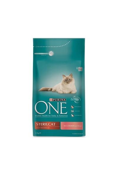 Purina One Steril Somonlu Kedi Maması 1.5 Kg