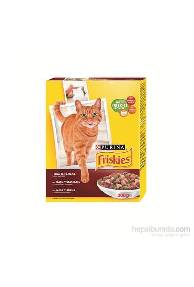 Friskies Etli Tavuklu Ve Sebzeli Yetişkin Kedi Maması 300Gr
