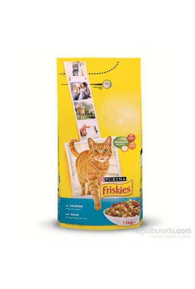 Friskies Somonlu Kedi Maması 1,7Kg