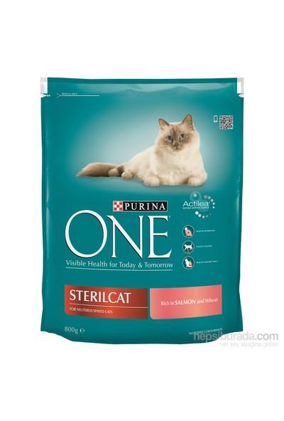 Purina One Steril Kısırlaştırılmış Kediler için Somonlu Kedi Maması 800 Gr