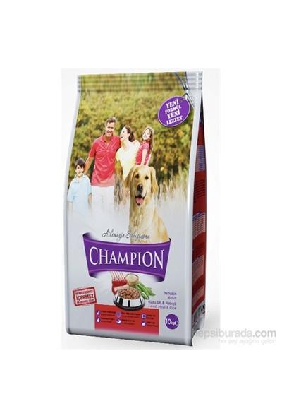 Champion Kuzu Etli&Pirinçli Yetişkin Köpek Maması 15 Kg