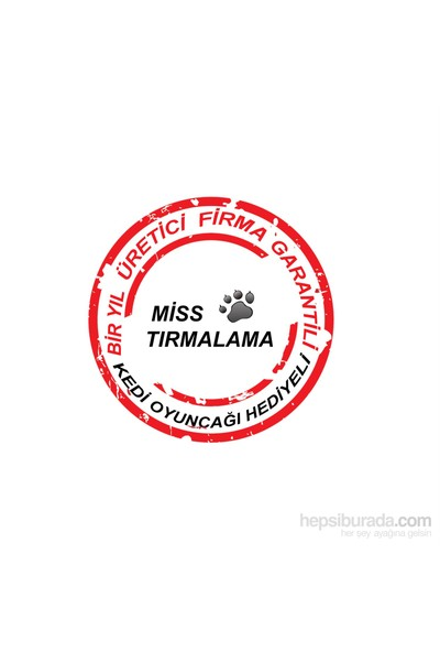 Miss Kalpli Yuvalı Tırmalama Ve Oyun Standı Kırmızı