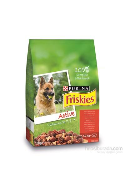 Friskies Active Etli Yetişkin Köpek Maması 10Kg