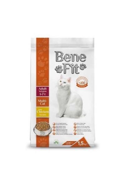 Benefit Multi-Cat Yetişkin Kuru Kedi Maması 1.5 Kg