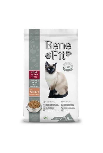 Benefit Sensitive Skin Deri Hassasiyeti Somon Balıklı Yetişkin Kuru Kedi Maması 1.5 Kg