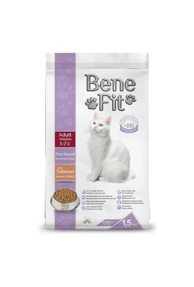 Benefit Sterilised Yetişkin Kısırlaştırılmış Somonlu Kuru Kedi Maması 1.5 Kg